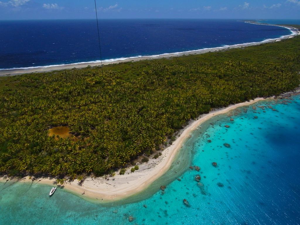 Пляж Факарава во Французской Полинезии, фото 2
