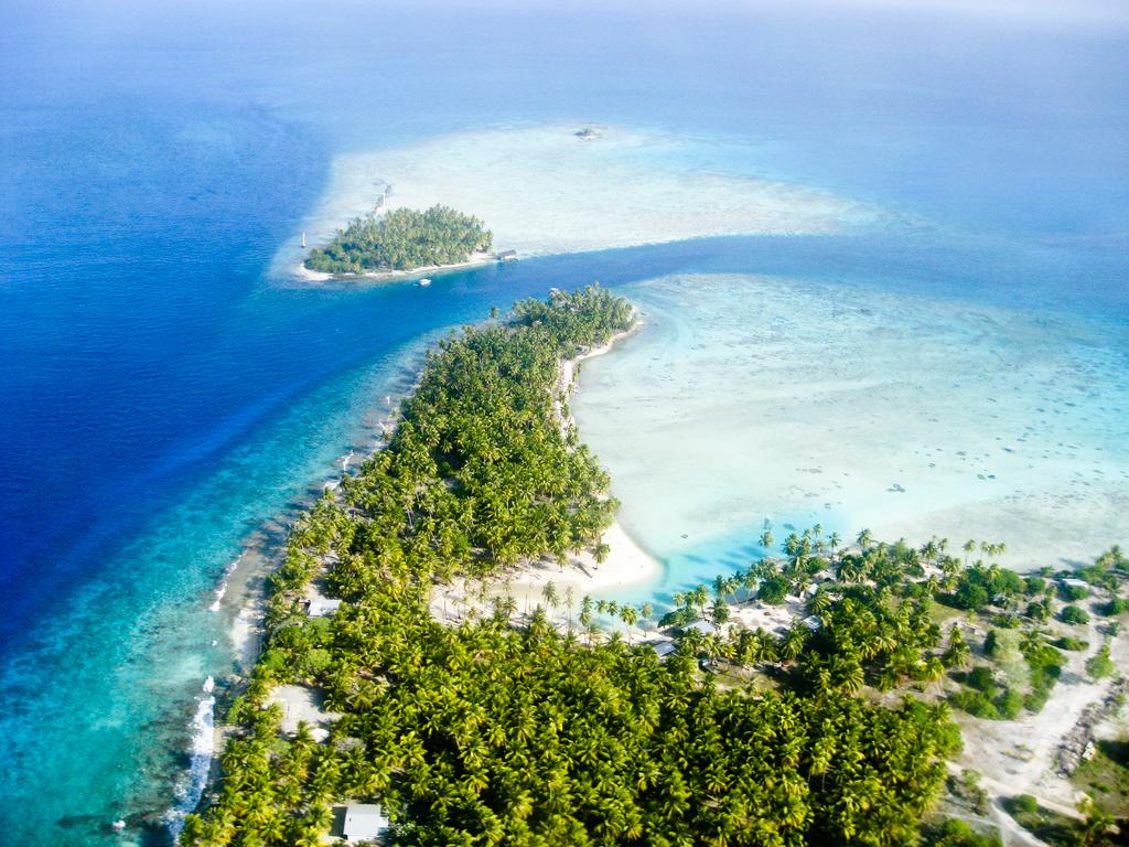 Пляж Факарава во Французской Полинезии, фото 4