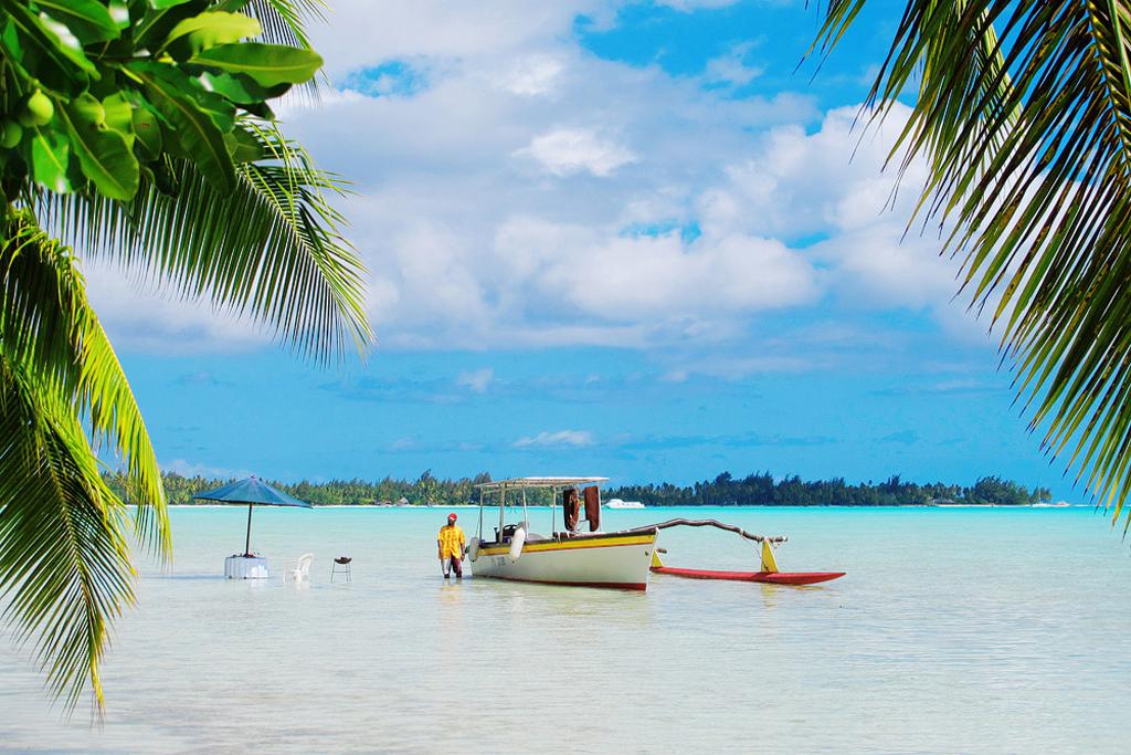 Пляж Факарава во Французской Полинезии, фото 5
