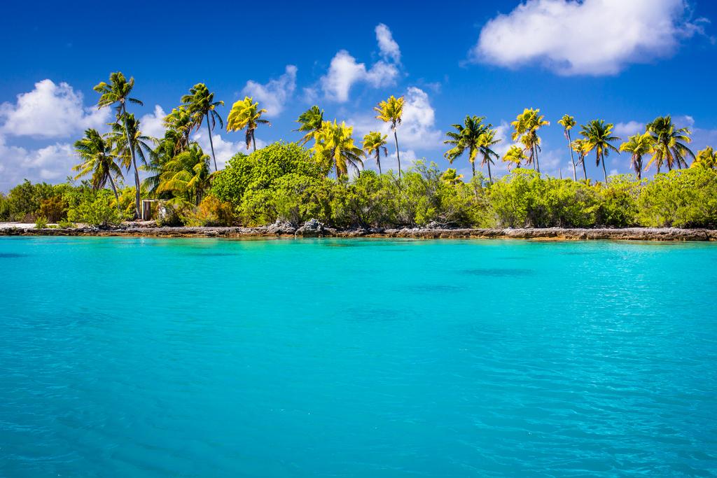 Пляж Факарава во Французской Полинезии, фото 6