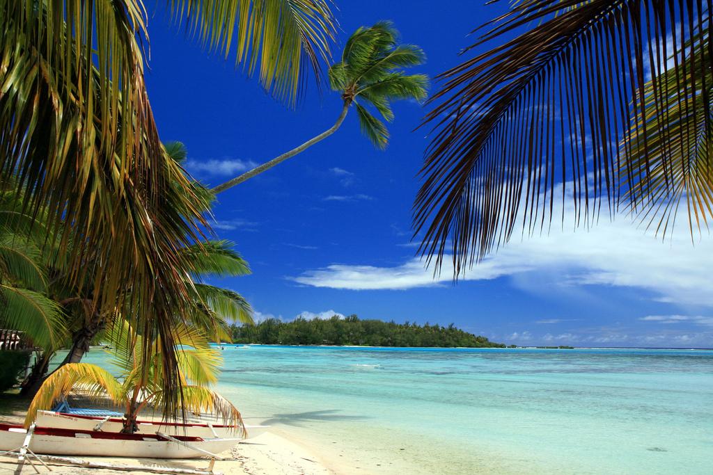 Пляж Факарава во Французской Полинезии, фото 8