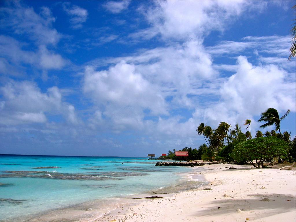 Пляж Факарава во Французской Полинезии, фото 14