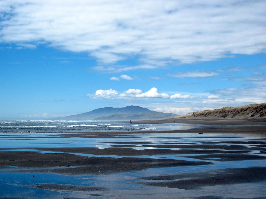 Пляж Кафия в Новой Зеландии, фото 5