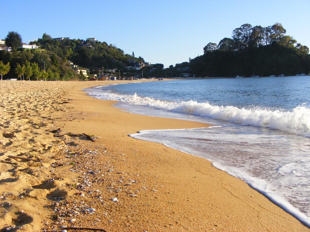 Пляж Каитеритери в Новой Зеландии, фото 1