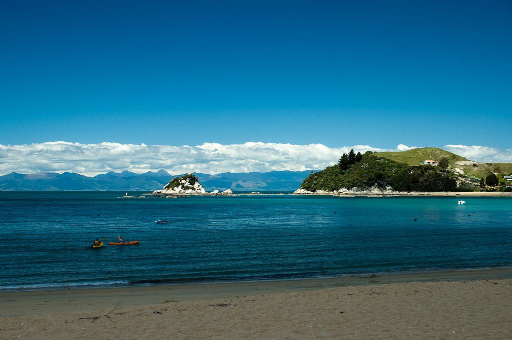 Пляж Каитеритери в Новой Зеландии, фото 2