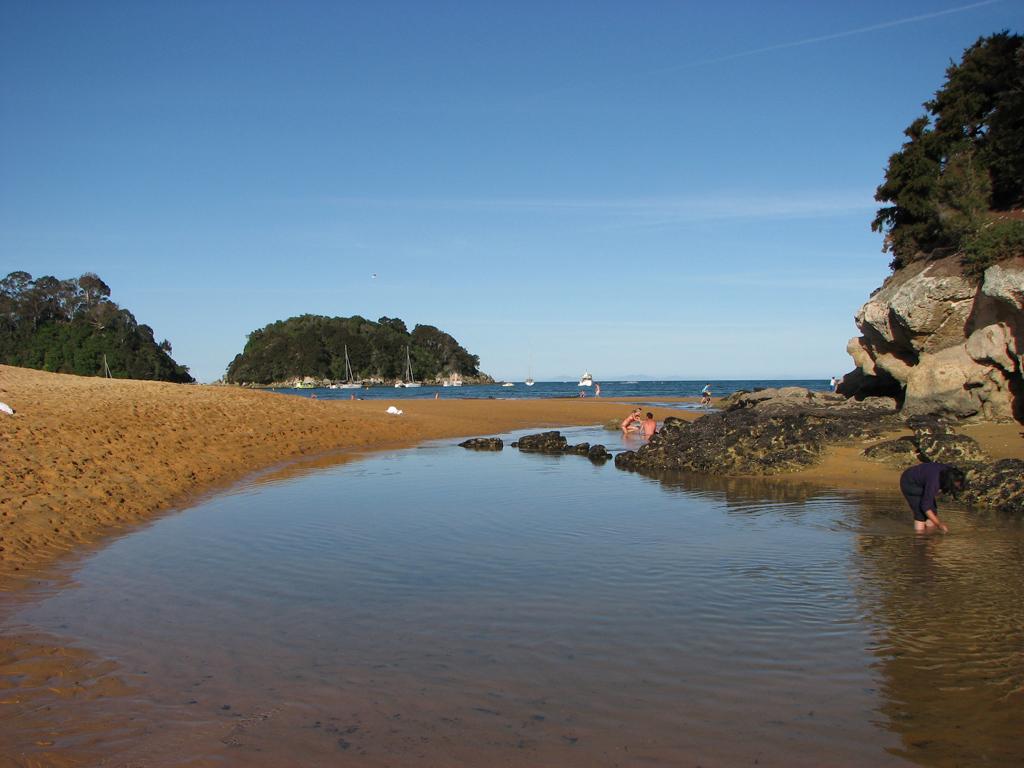 Пляж Каитеритери в Новой Зеландии, фото 4