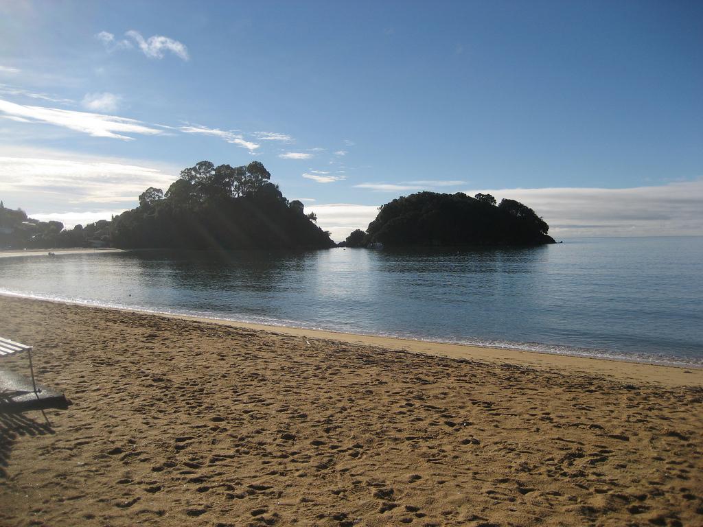 Пляж Каитеритери в Новой Зеландии, фото 7