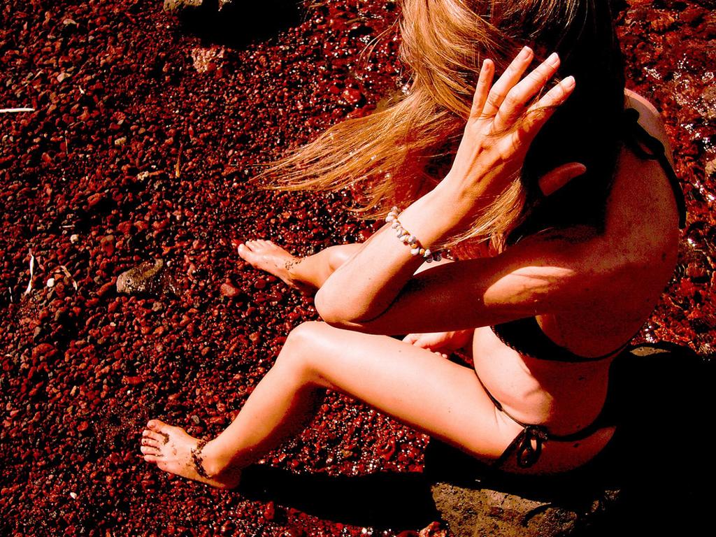 Пляж Красный в Греции, фото 1