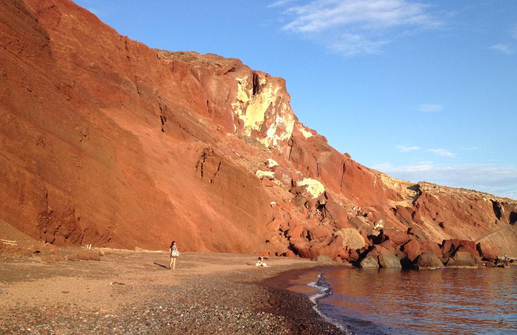 Пляж Красный в Греции, фото 2