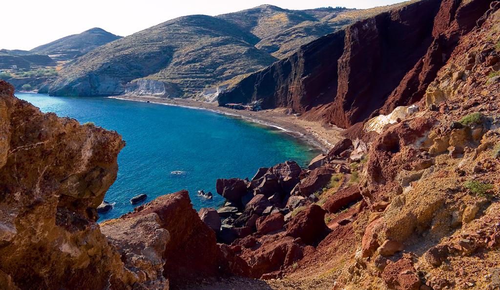 Пляж Красный в Греции, фото 4