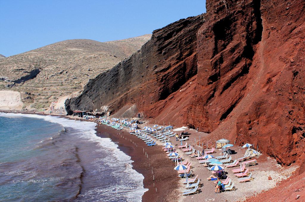 Пляж Красный в Греции, фото 5