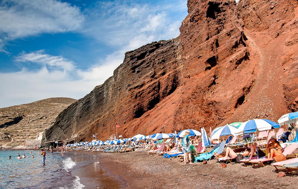 Пляж Красный в Греции, фото 6