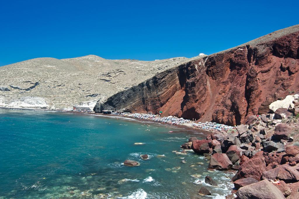 Пляж Красный в Греции, фото 7