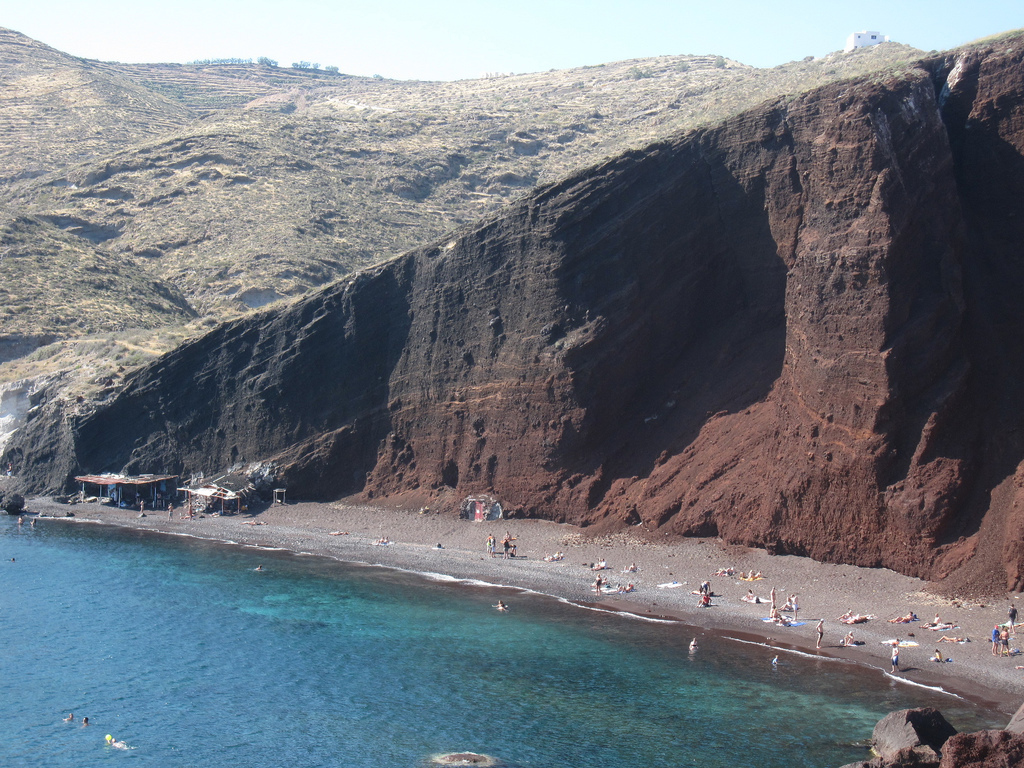 Пляж Красный в Греции, фото 8