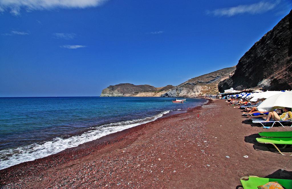 Пляж Красный в Греции, фото 9