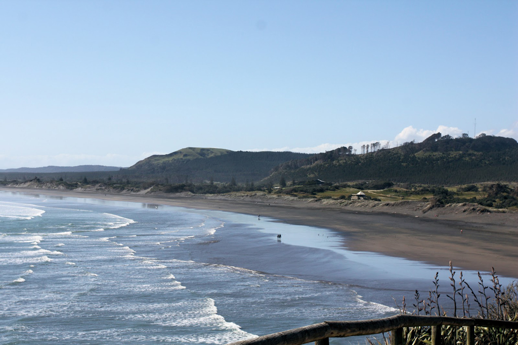Пляж Муриваи в Новой Зеландии, фото 7