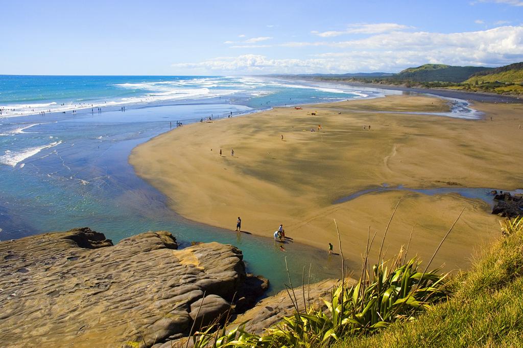 Пляж Муриваи в Новой Зеландии, фото 9