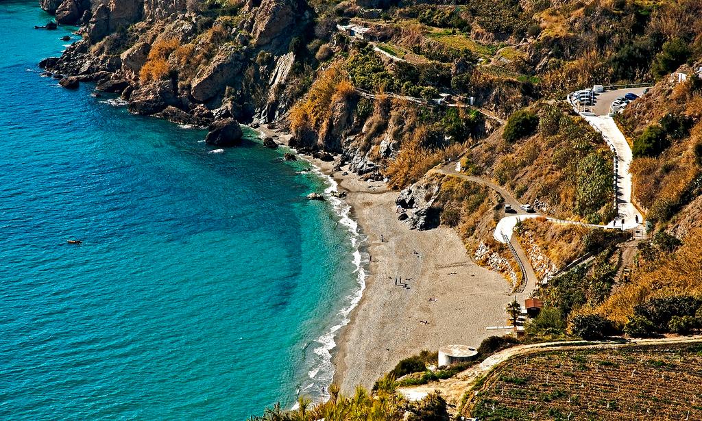 Пляж Нерха в Испании, фото 9