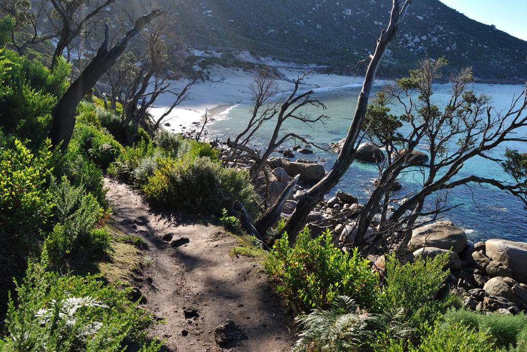 Пляж Оберон Бэй в Австралии, фото 1