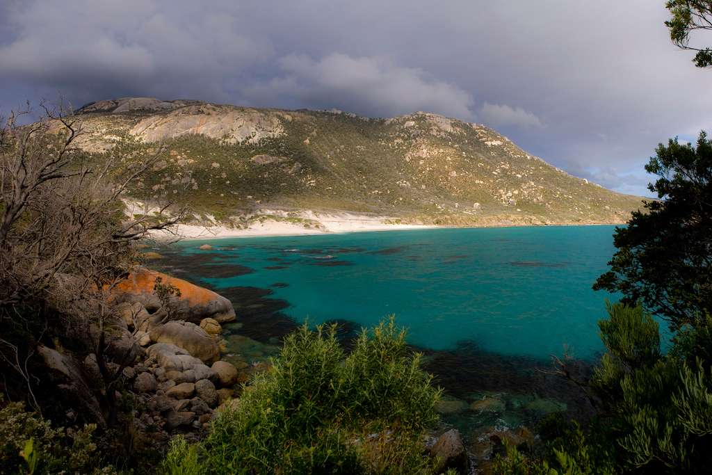 Пляж Оберон Бэй в Австралии, фото 4