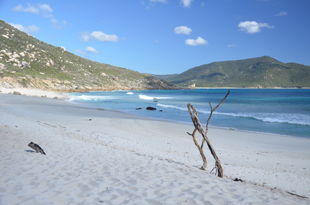 Пляж Оберон Бэй в Австралии, фото 5