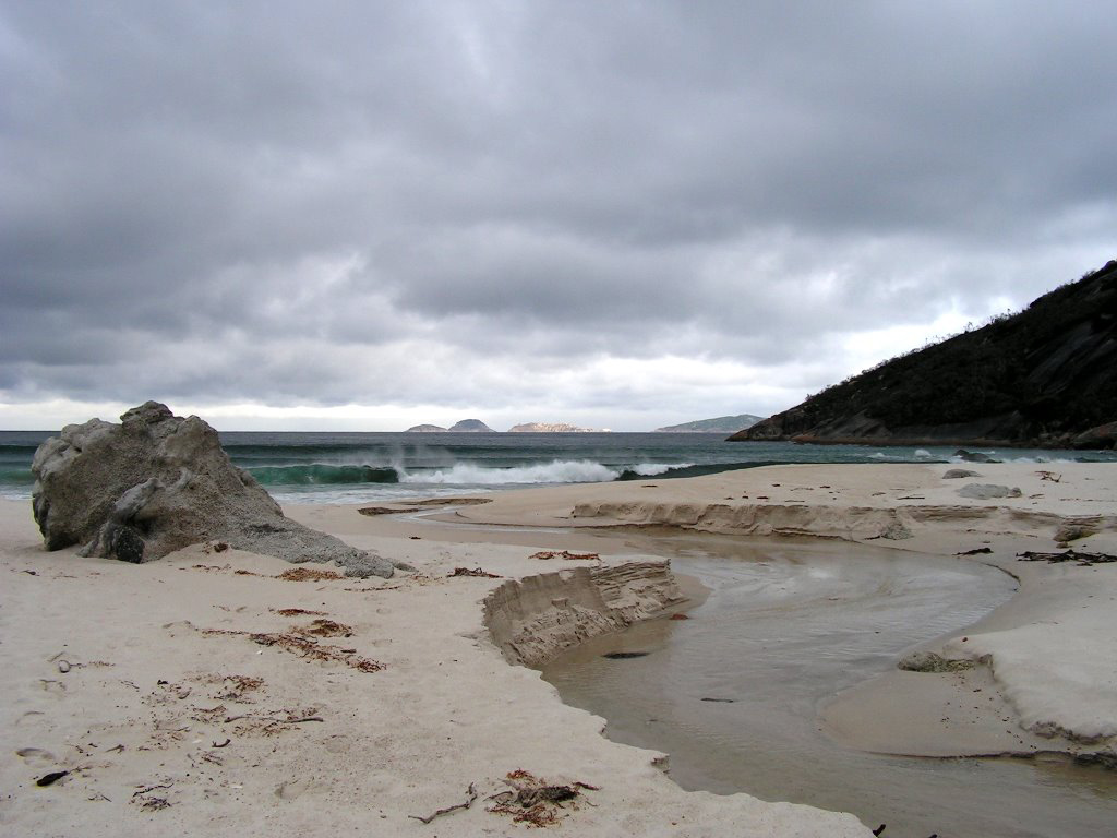 Пляж Оберон Бэй в Австралии, фото 6