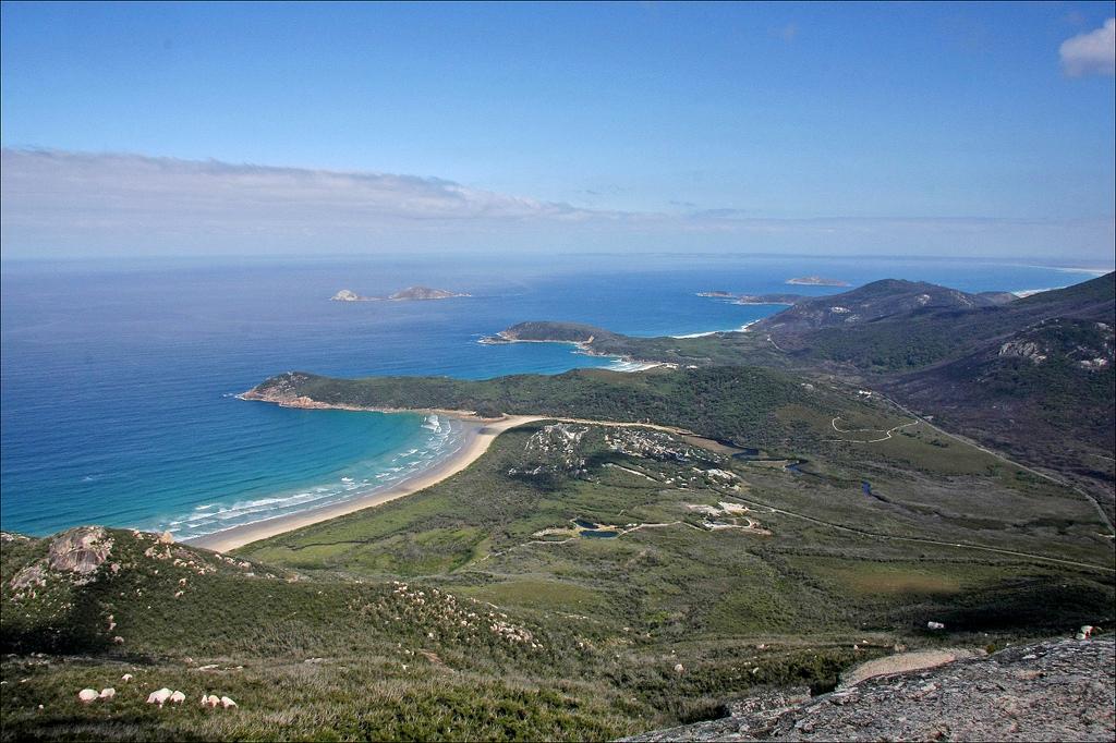 Пляж Оберон Бэй в Австралии, фото 7