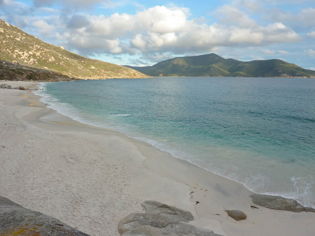 Пляж Оберон Бэй в Австралии, фото 9