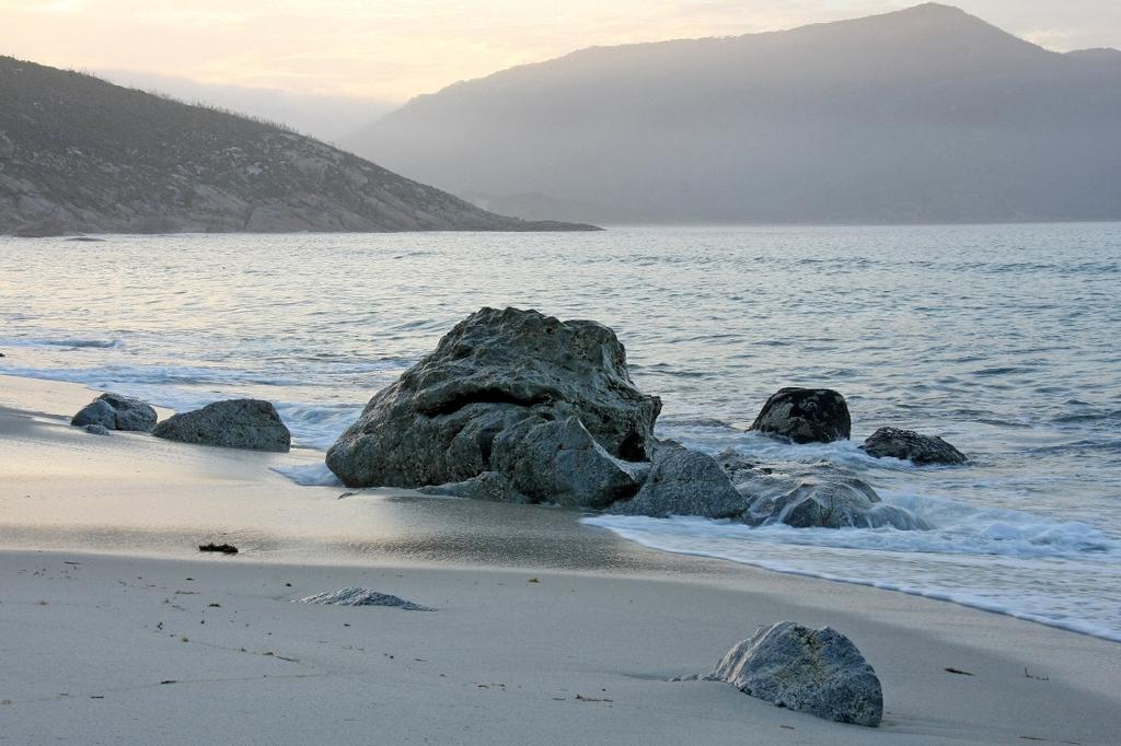 Пляж Оберон Бэй в Австралии, фото 12