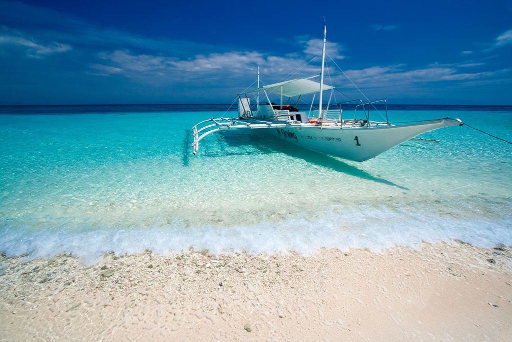 Пляж острова Памилакан на Филиппинах, фото 1
