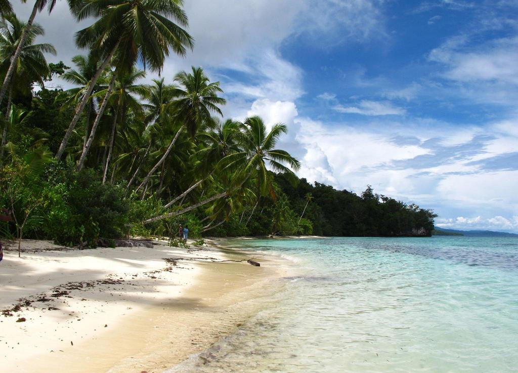 Пляж Раджа-Ампат в Индонезии, фото 2