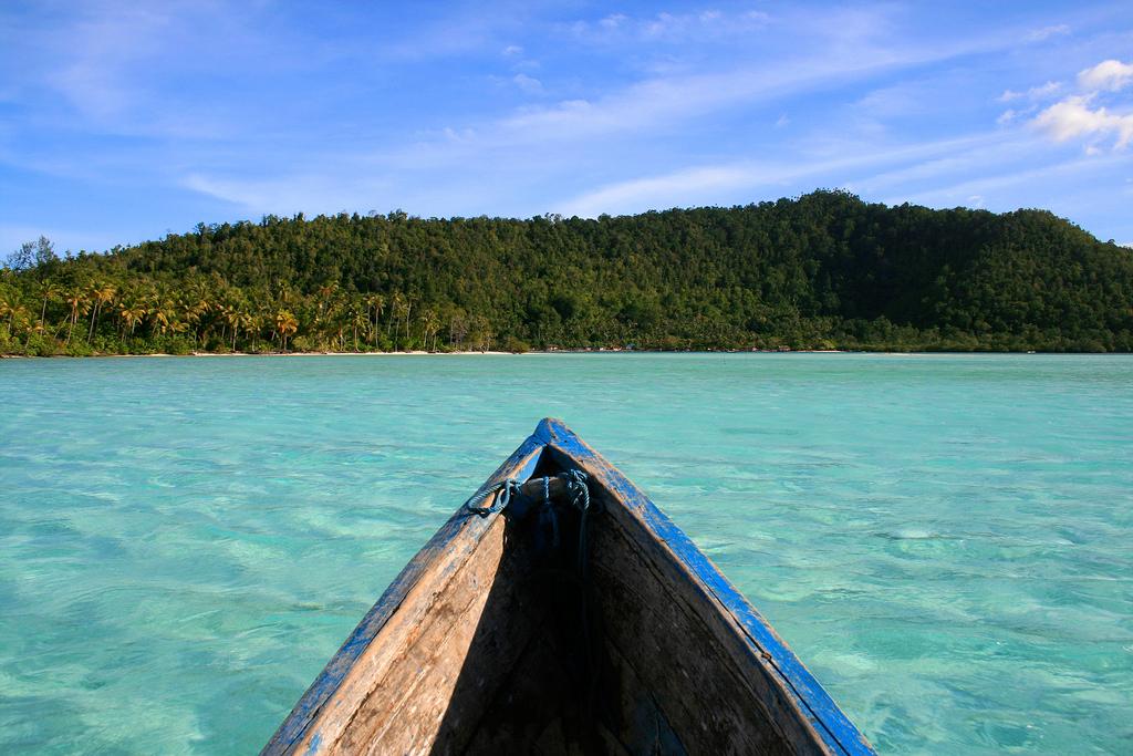 Пляж Раджа-Ампат в Индонезии, фото 7