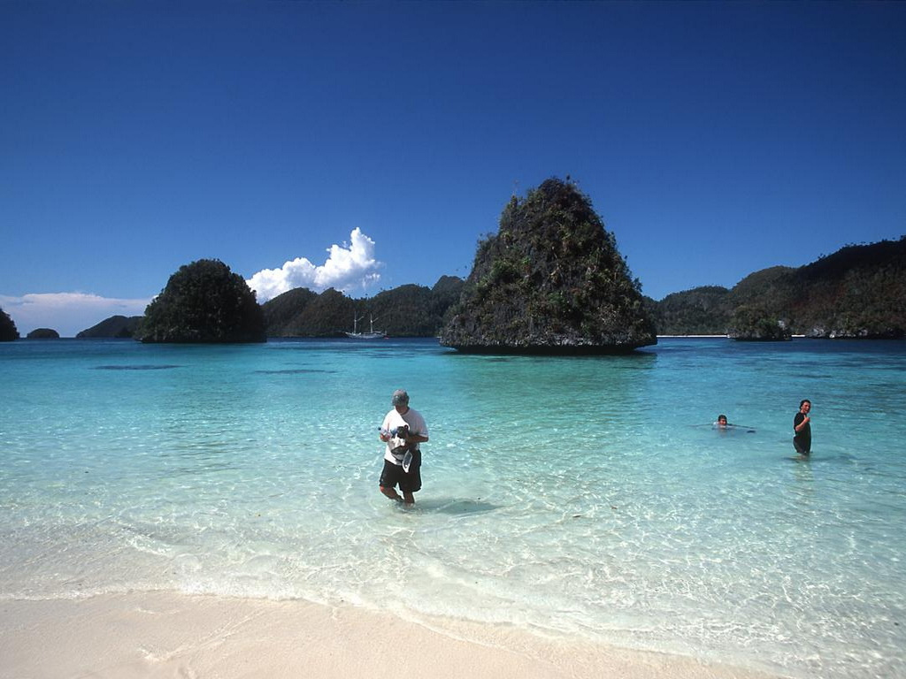 Пляж Раджа-Ампат в Индонезии, фото 8