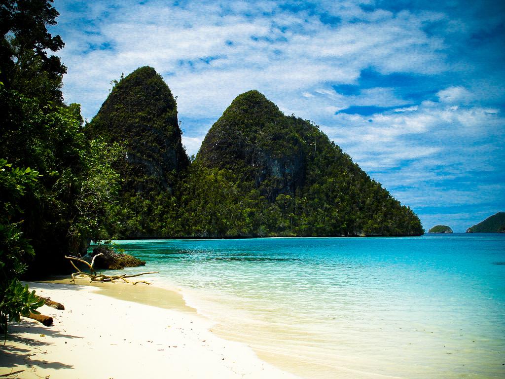 Пляж Раджа-Ампат в Индонезии, фото 10