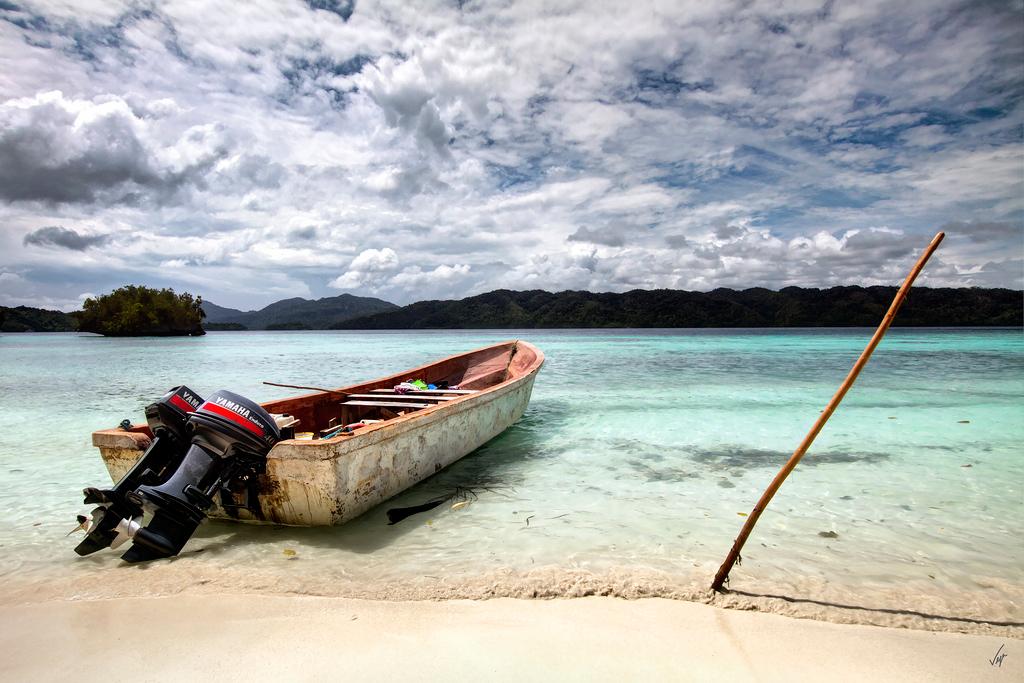 Пляж Раджа-Ампат в Индонезии, фото 11