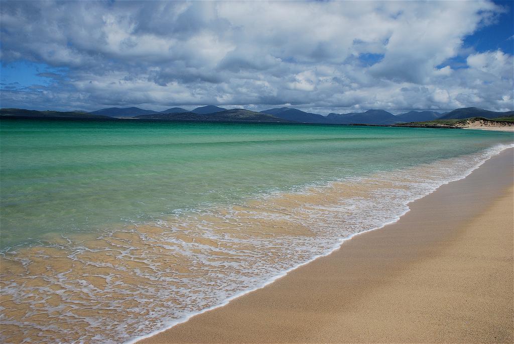 Пляж Скариста в Великобритании, фото 1