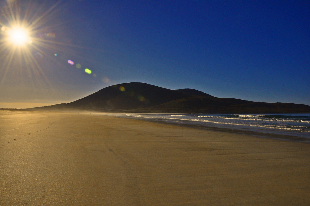 Пляж Скариста в Великобритании, фото 6