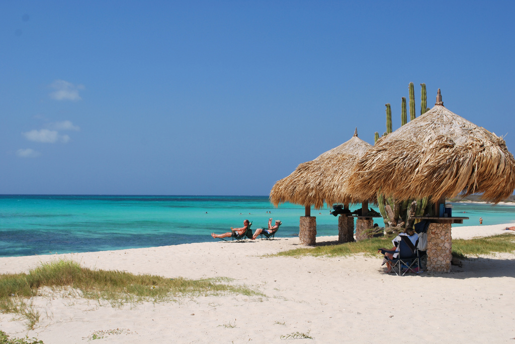 Пляж Араши в Арубе, фото 8
