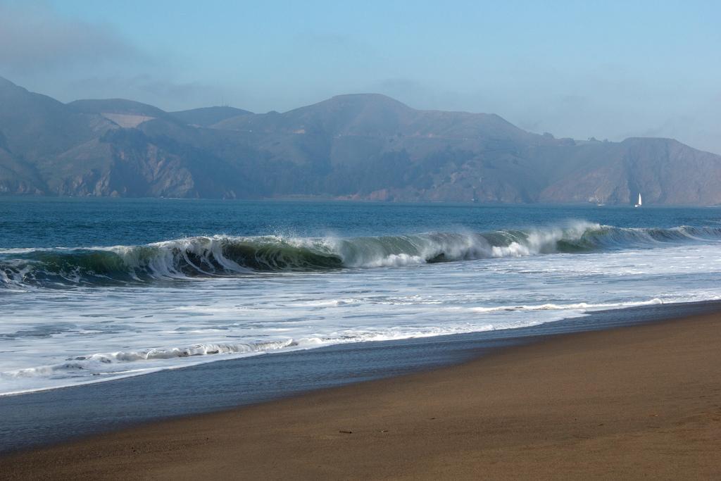 Пляж Бейкер Бич в США, фото 3