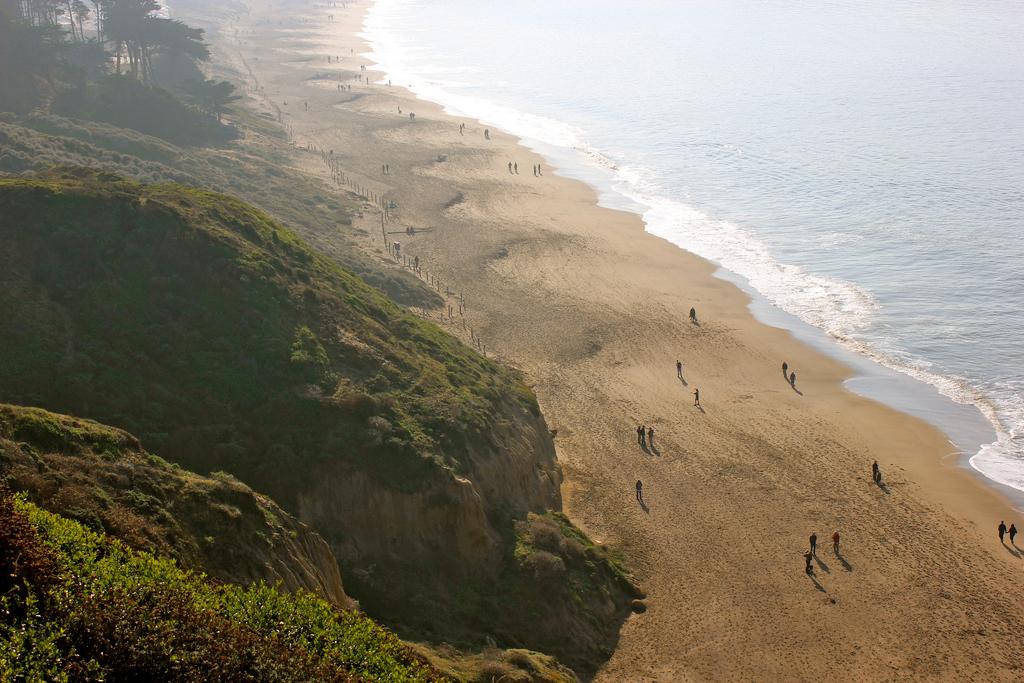 Пляж Бейкер Бич в США, фото 5