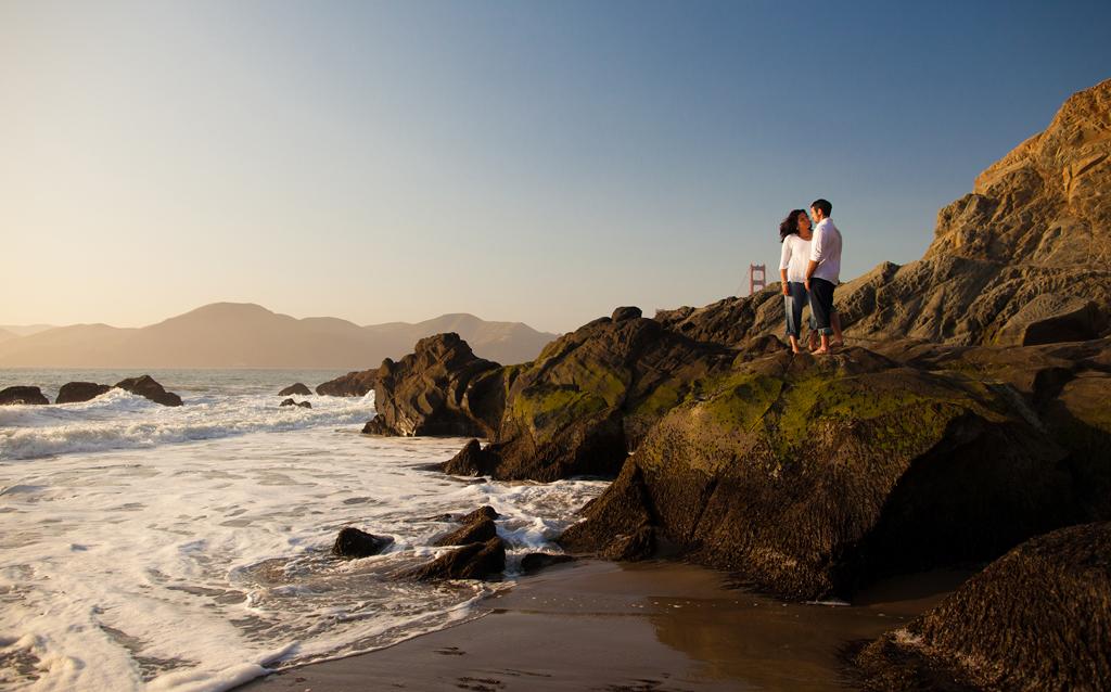 Пляж Бейкер Бич в США, фото 9