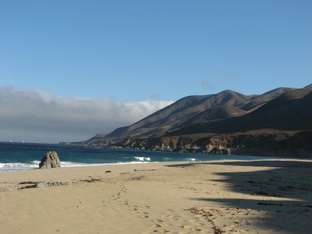 Пляж Биг Сюр в США, фото 2