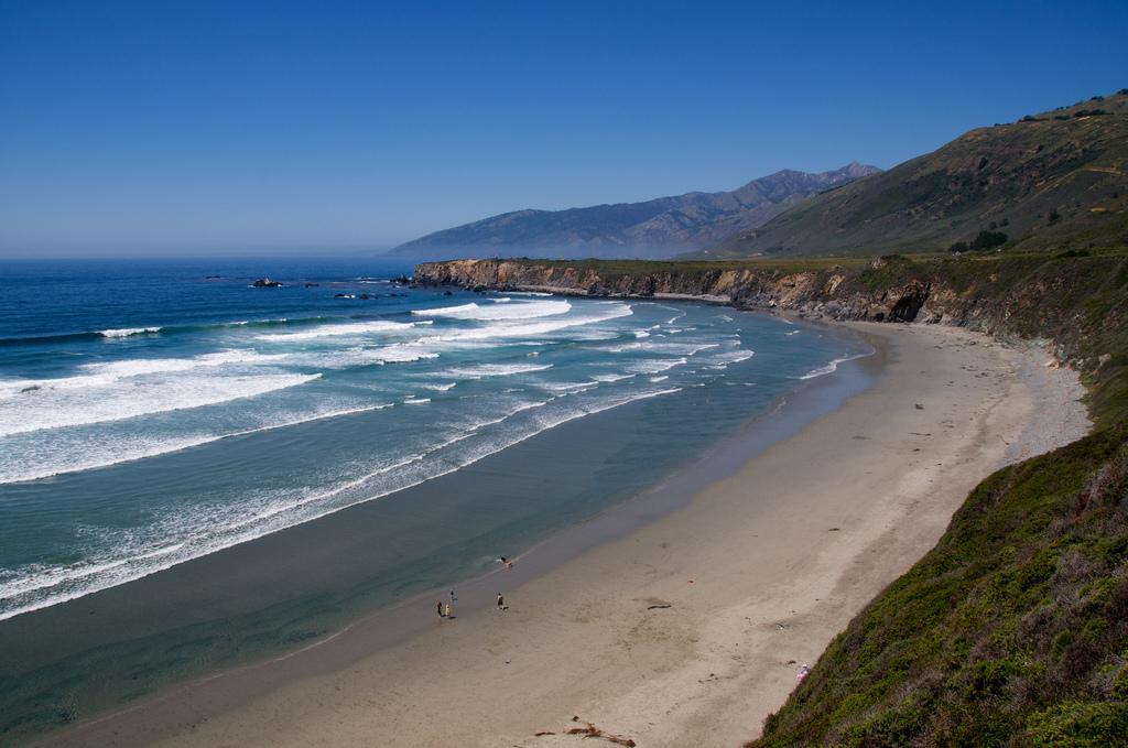 Пляж Биг Сюр в США, фото 4