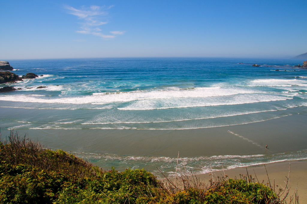 Пляж Биг Сюр в США, фото 6