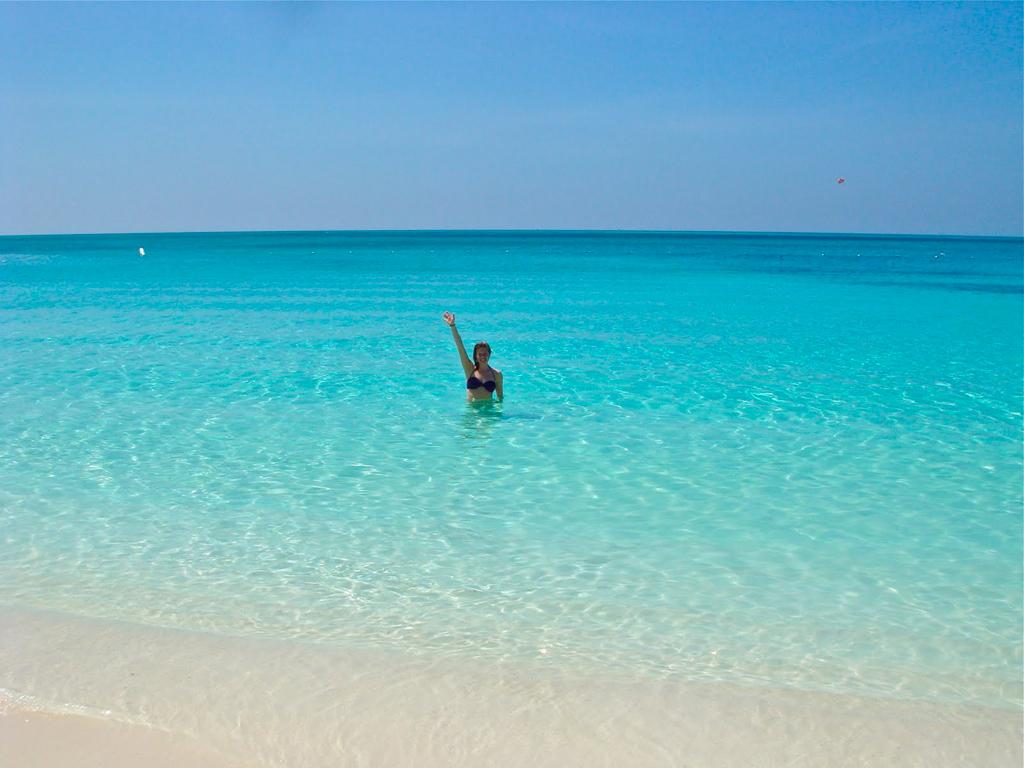 Пляж Грейс Бэй на Карибских островах, фото 1