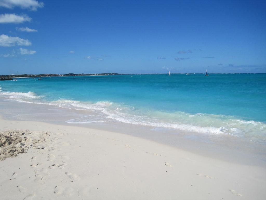 Пляж Грейс Бэй на Карибских островах, фото 3