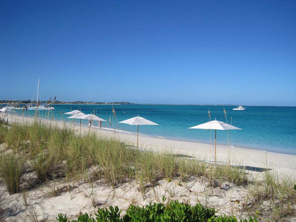 Пляж Грейс Бэй на Карибских островах, фото 4