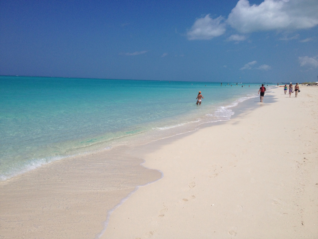 Пляж Грейс Бэй на Карибских островах, фото 11