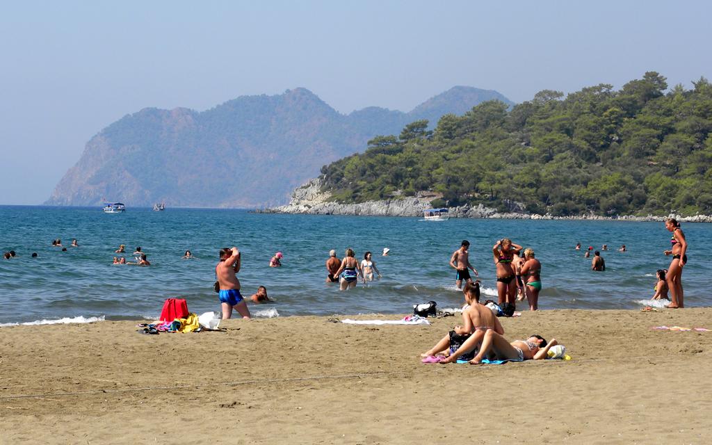 Пляж Изтузу в Турции, фото 6