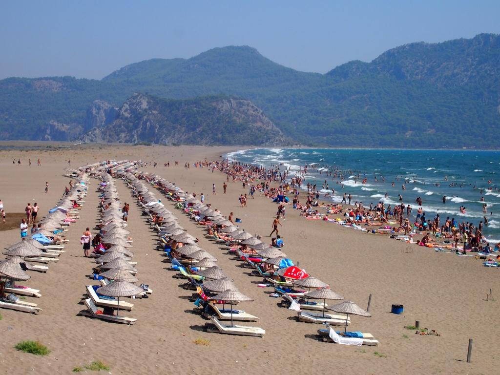 Пляж Изтузу в Турции, фото 7